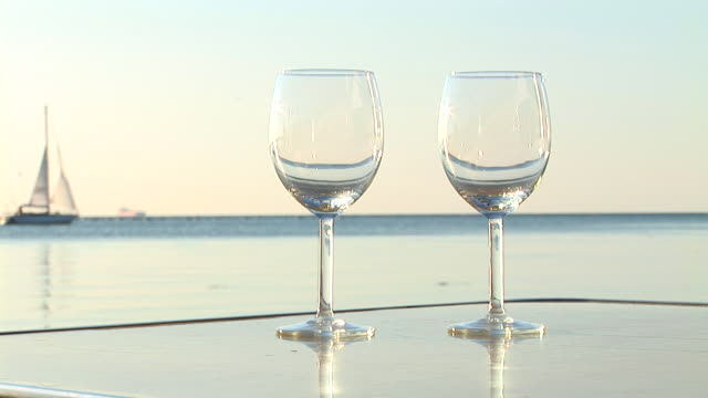 HD: Pouring Wine Near The Ocean