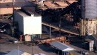 Power And Wood Plant Near Jackson  - Aerial View - Alabama,  Washington County,  United States
