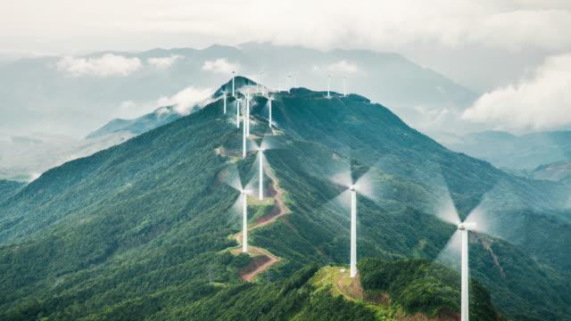 Kraft generieren Windmühlen