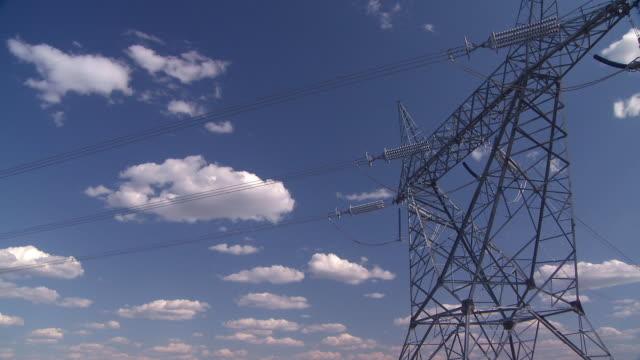 Power line time lapse