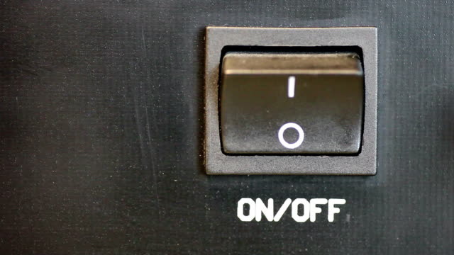 Power On/Off Switch