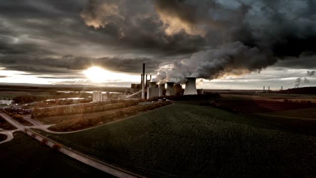 VEDUTA AEREA: Centrale elettrica di retroilluminazione