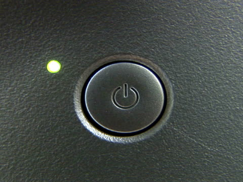 CU power switch on computer monitor