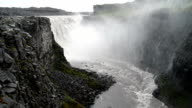 Powerful Dettifoss waterfall, Iceland