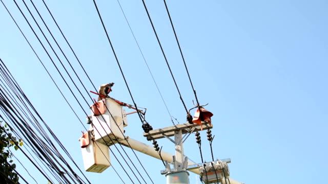 Powerline-Arbeiter