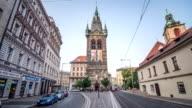 Prague Heinrichtsturm Hyerlapse