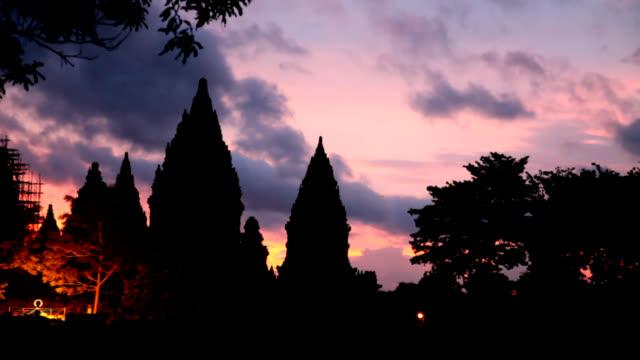 Prambanan Temple dusk