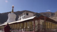 Prayer Wheel in Drepung Monastery, Lhasa, Tibet
