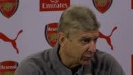 Pre Match press conference with Arsenal manager Arsene Wenger ahead of their match against Swansea He says he was 'surprised' to hear of Graham...