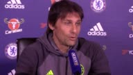 Pre match press conference with Chelsea manager Antonio Conte ahead of his side's clash with Manchester United in the Premier League on April 16