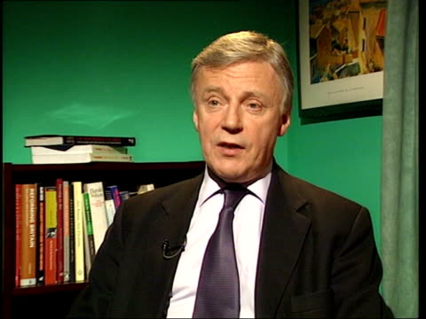 Reaction ITN London INT John Monks interview SOT only criticism is that he understated problems in manufacturing sector/ more jobs gone today typical...