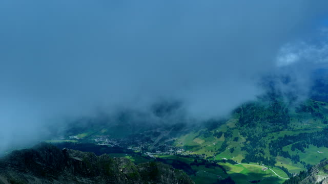 Precipitous ridge in Switzerland