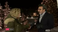 IMF predicts rise in migrant numbers / EU quota plan rejected by Government SWITZERLAND Davos Hamdi Ulukaya LIVE interview SOT