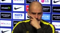 Prematch press conference with Manchester City manager Pep Guardiola ahead of their Premier League match against Bournemouth He talks about Sergio...