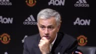 Prematch press conference with Manchester United manager Jose Mourinho ahead of his side's Carabao Cup match with Burton on September 20
