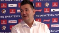 Prematch press conference with Sutton United manager Paul Doswell ahead of their FA Cup fifth round home tie against Arsenal