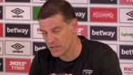 Prematch press conference with West Ham manager Slaven Bilic ahead of his side's match against West Bromwich Albion at The Hawthorns