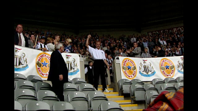 Alan Shearer package UNKNOWN ENGLAND Newcastle St James's Park EXT Alan Shearer unveiled to fans ENGLAND Newcastle EXT Shearer training with Newcastle