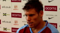 Aston Villa press conference ENGLAND Birmingham INT James Milner press conference setups Milner press conference SOT Talks about how he came to sign...