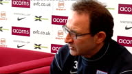 Aston Villa press conference O'Neill press conference SOT Beleives Liverpool have not been playing as well as possible but have still been winning...