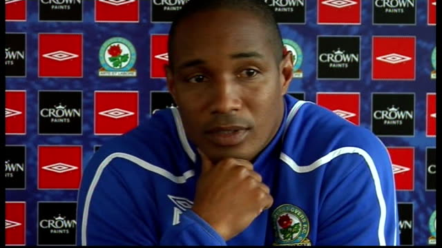 Blackburn Rovers press conference ENGLAND Blackburn INT Paul Ince press conference SOT Talks about players who have come back from international duty...