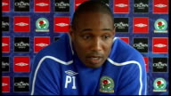 Blackburn Rovers press conference Ince press conference SOT Take heart from Fulham's win over Arsenal / Arsenal will be very tough game / If you...