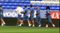 Bolton Wanderers training More of Bolton players training on pitch including Ricardo Gardner Kevin Davies Blerim Dzemaili McCann Kevin Nolan Andrew...