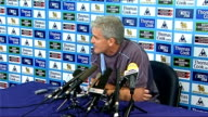 Manchester City press conference Mark Hughes Hughes press conference SOT Talks about possibility of having winter break in English football / Affects...
