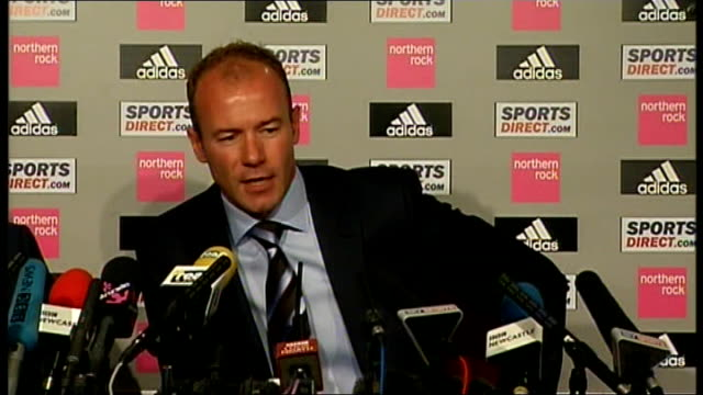 Newcastle United Shearer unveiled as new manager Shearer press conference SOT Players should be full of confidence playing in front of 52000 people /...