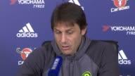 Premier League preview Premier League preview Surrey Cobham Antonio Conte press conference SOT