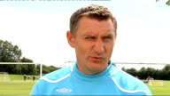 West Bromwich Albion interviews Mowbray interview SOT Talks about next opponents Everton/Finished fifth in Premier League last season so will be...