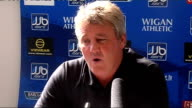 Wigan press conference Steve Bruce press conference SOT Racism in football abuse Heskey suffered in Croatia