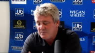 Wigan press conference Steve Bruce press conference SOT On Emile Heskey performances for England and Wigan / On Theo Walcott's performance against...