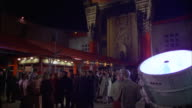 MS Premier or preview crowd standing outside grauman chinese theater
