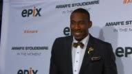 Premiere Of Amare Stoudemire IN THE MOMENT at Marquee on April 18 2013 in New York New York