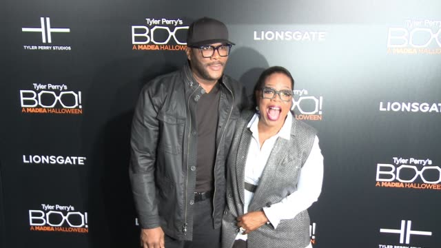 CHYRON Premiere Of Lionsgate's 'Boo A Madea Halloween' in Los Angeles CA
