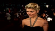 Premiere of new James Bond film 'Casino Royale' Ivana Milicevic speaking to press SOT On becoming a Bond girl and being paid to travel the world for...
