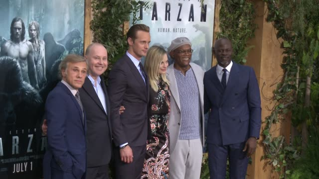 CLEAN Premiere Of Warner Bros Pictures' 'The Legend Of Tarzan' in Los Angeles CA