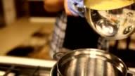 Preparazione di pasta