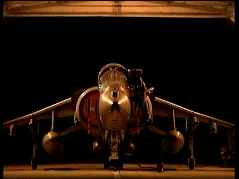 Preparations being made to Royal Air Force Harrier jet Kosovo Situation; 25 Mar 99