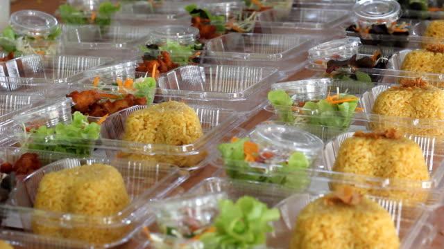 Bereiten thailändische Küche Lunchpaket Kgawhmk