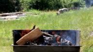 Preparing BBQ
