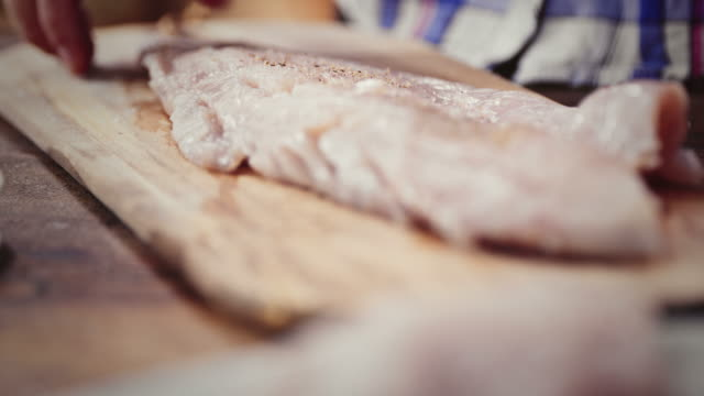 Preparazione Filetto di merluzzo fresco Alaska