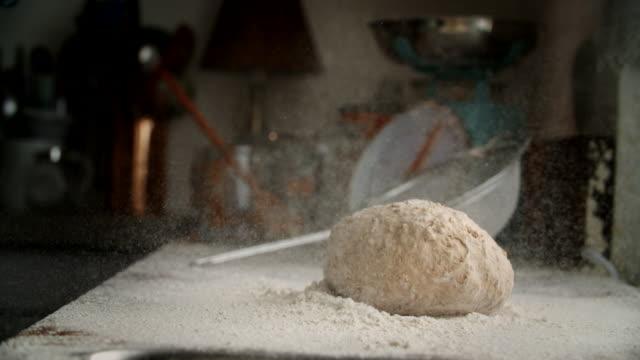Preparing Fresh Healthy Bread
