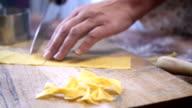 Preparing Homemade Pasta
