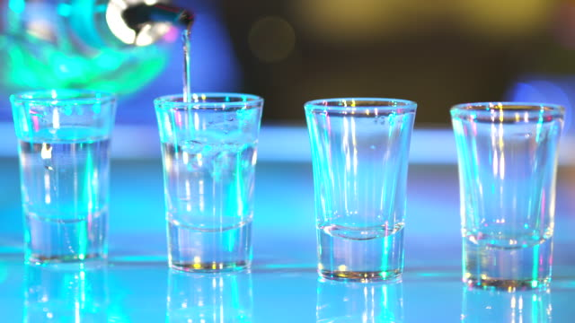 HD: Preparing Shots Of Tequila