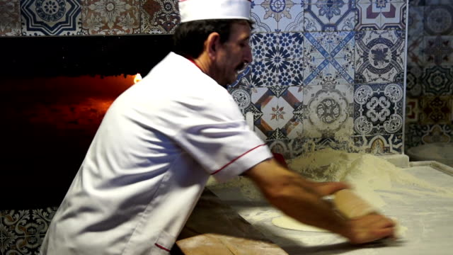 HD: Preparing Traditional Turkish Pastry called as Pide