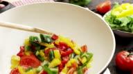 Vorbereiten Gemüse