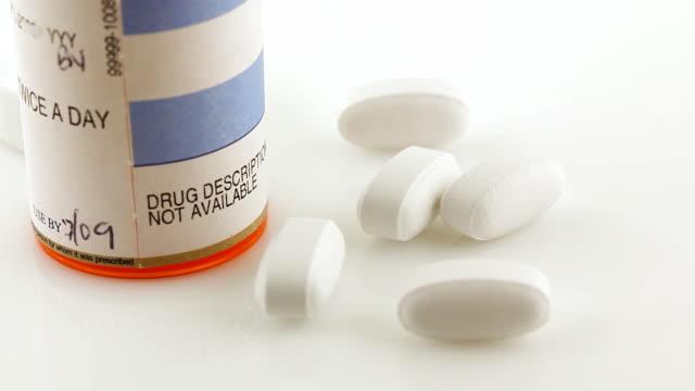 Prescription Bottle & Pills