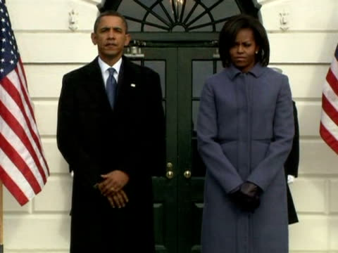 President and Michelle Obama lead the country in one minute of silence at the White House in memory of the victims of the shootings in Arizona